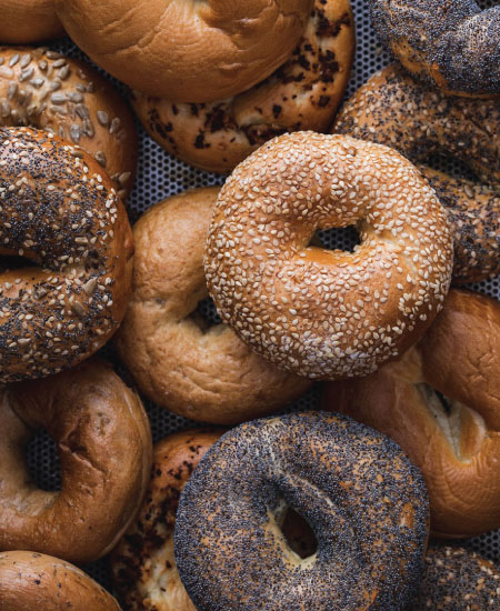 Bagels online order from The Bagel Co Rose Bay and Surry Hills