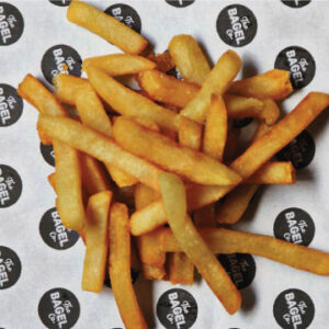 Image of the Hot Chips which can be ordered either online or in-store for lunch at The Bagel co. Rose Bay