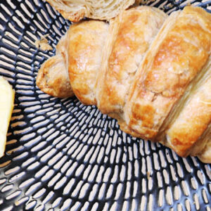 Image of our rich & dreamy, baked-daily croissants from The Bagel Co. Rose Bay