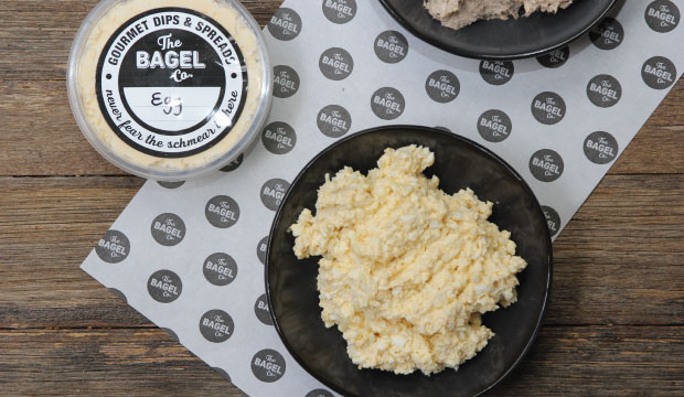 Photo of our egg dip from The Bagel Co Rose Bay