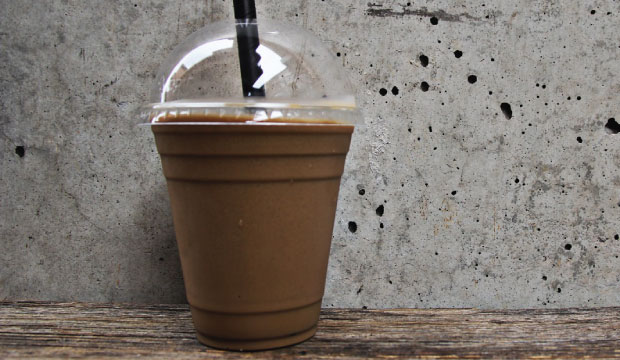 Image of the famous Ice Coffee Frappe from The Bagel Co, Rose Bay. This is a must!