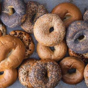 Freshly baked bagels from The Bagel Co Rose Bay and Surry Hills