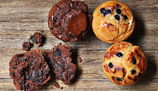 Image of The Bagel Co. muffins, which are soft & sweet. Just a perfect companion for a coffee break. We can't get enough of them! Muffin Run? order in bulk and have fun!