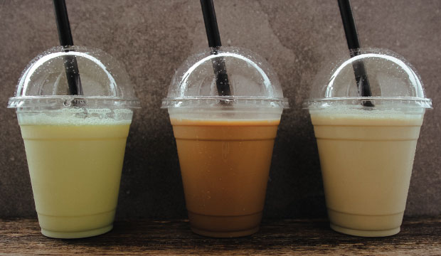 Thickshakes from The Bagel co, Rose Bay