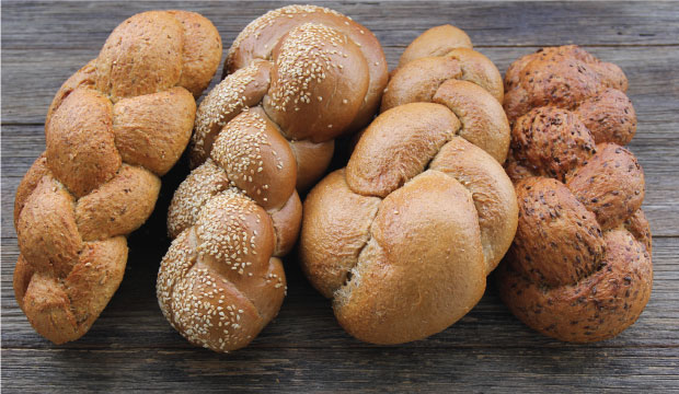 Healthy soy & linseed, wholemeal, multigrain or rye challah breads from The Bagel Co Rose Bay