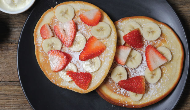 This is an image of the Sweet Breakfast available at The Bagel Co in Rose Bay