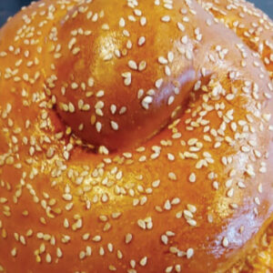 Round Challah for Rosh Hashana at The Bagel Co Rose Bay